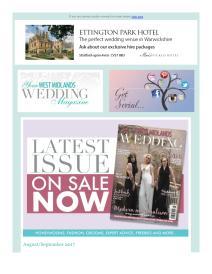 Your West Midlands Wedding magazine - September 2017 newsletter