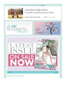 Your Kent Wedding magazine - October 2017 newsletter