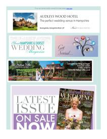 Your Hampshire & Dorset Wedding magazine - October 2017 newsletter