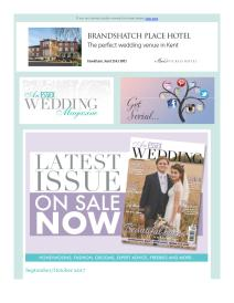 An Essex Wedding magazine - October 2017 newsletter