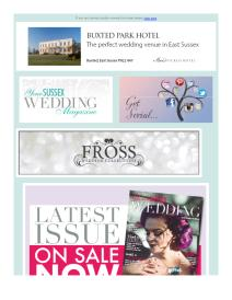 Your Sussex Wedding magazine - October 2017 newsletter
