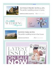 Your London Wedding magazine - October 2017 newsletter