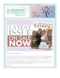 Your Berks, Bucks & Oxon Wedding magazine - October 2017 newsletter