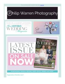 Your South Wales Wedding magazine - October 2017 newsletter