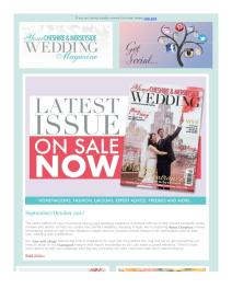 Your Cheshire & Merseyside Wedding magazine - October 2017 newsletter