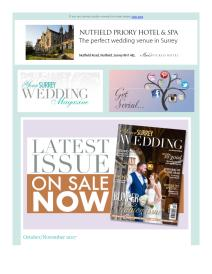 Your Surrey Wedding magazine - October 2017 newsletter