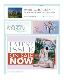 Your East Midlands Wedding magazine - October 2017 newsletter
