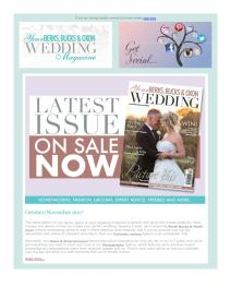 Your Berks, Bucks and Oxon Wedding magazine - November 2017 newsletter