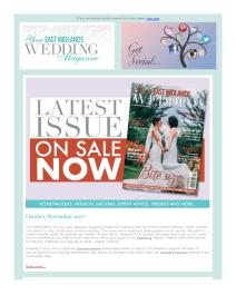 Your East Midlands Wedding magazine - November 2017 newsletter