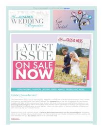 Your Glos & Wilts Wedding magazine - November 2017 newsletter
