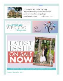 Your West Midlands Wedding magazine - November 2017 newsletter
