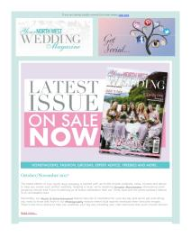Your North West Wedding magazine - November 2017 newsletter