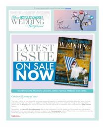 Your Bristol and Somerset Wedding magazine - December 2017 newsletter