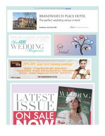 Your Kent Wedding magazine - November 2017 newsletter