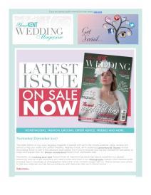Your Kent Wedding magazine - December 2017 newsletter