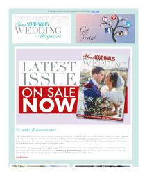 Your South Wales Wedding magazine - November 2017 newsletter