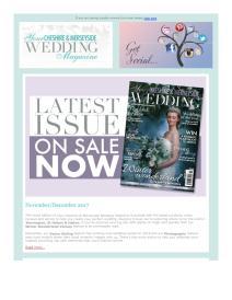 Your Cheshire & Merseyside Wedding magazine - November 2017 newsletter