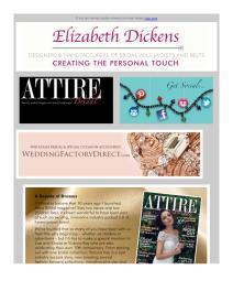 Attire Bridal magazine - November 2017 newsletter