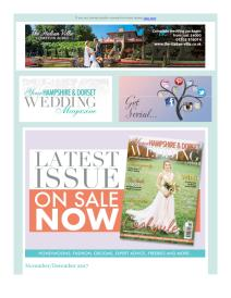 Your Hampshire and Dorset Wedding magazine - December 2017 newsletter