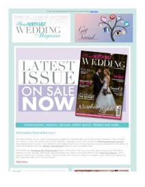 Your North East Wedding magazine - December 2017 newsletter