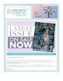 Your Cheshire & Merseyside Wedding magazine - December 2017 newsletter