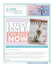 Your Yorkshire Wedding magazine - December 2017 newsletter