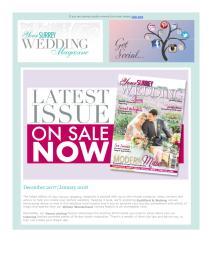 Your Surrey Wedding magazine - December 107 newsletter