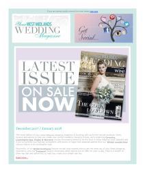 Your West Midlands Wedding magazine - December 2017 newsletter