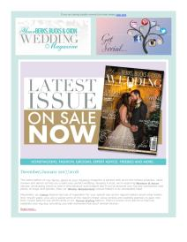 Your Berks, Bucks and Oxon Wedding magazine - January 2018 newsletter