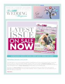 Your Surrey Wedding magazine - January 2018 newsletter