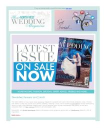Your North West Wedding magazine - January 2018 newsletter