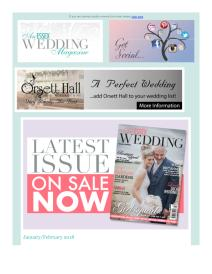 An Essex Wedding magazine - January 2018 newsletter
