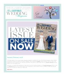 Your South Wales Wedding magazine - January 2018 newsletter