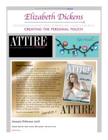 Attire Bridal magazine - January 2018 newsletter