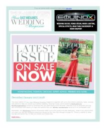 Your East Midlands Wedding magazine - January 2018 newsletter