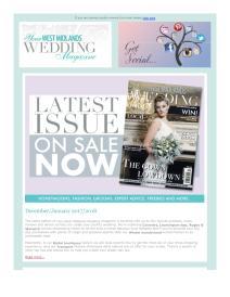 Your West Midlands Wedding magazine - January 2018 newsletter