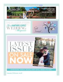 Your Hampshire and Dorset Wedding magazine - February 2018 newsletter