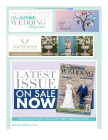 Your South Wales Wedding magazine - February 2018 newsletter
