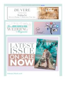 Your Berks, Bucks and Oxon Wedding magazine - February 2018 newsletter