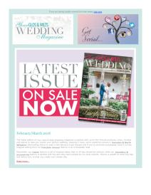Your Glos & Wilts Wedding magazine - February 2018 newsletter