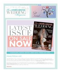Your Cheshire & Merseyside Wedding magazine - February 2018 newsletter