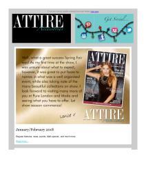 Attire Accessories magazine - February 2018 newsletter