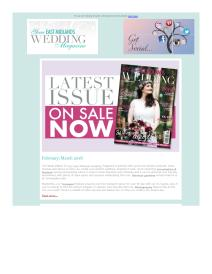 Your East Midlands Wedding magazine - March 2018 newsletter