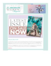 Your Berks, Bucks and Oxon Wedding magazine - March 2018 newsletter
