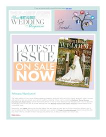 Your Herts and Beds Wedding magazine - March 2018 newsletter