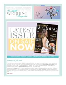 Your Surrey Wedding magazine - March 2018 newsletter