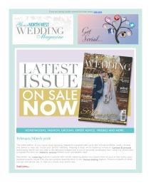 Your North West Wedding magazine - March 2018 newsletter