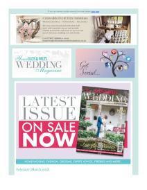Your Glos & Wilts Wedding magazine - March 2018 newsletter