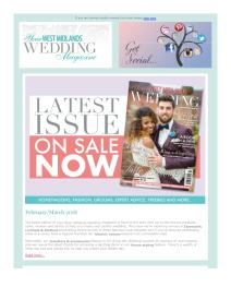 Your West Midlands Wedding magazine - March 2018 newsletter