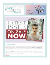 Your Kent Wedding magazine - March 2018 newsletter